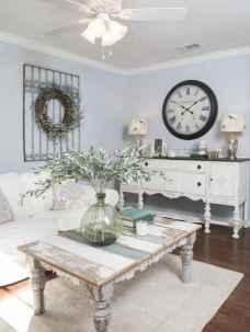 Romantic shabby chic living room decoration ideas (49)