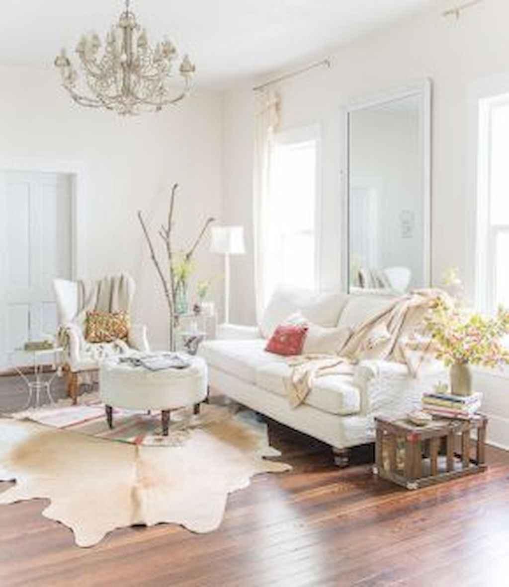 Romantic shabby chic living room decoration ideas (5)
