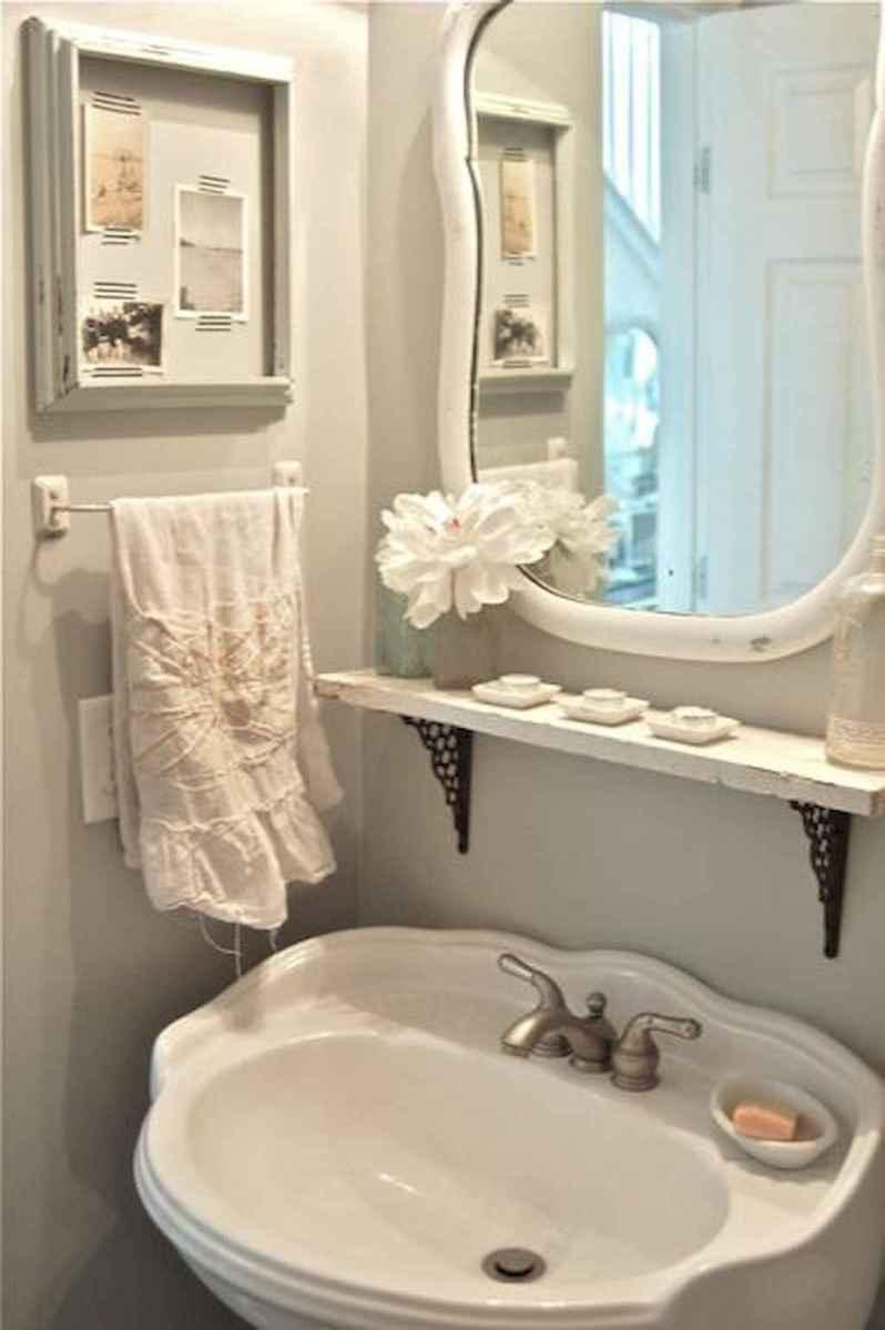 Shabby chic bathroom remodel ideas (12)