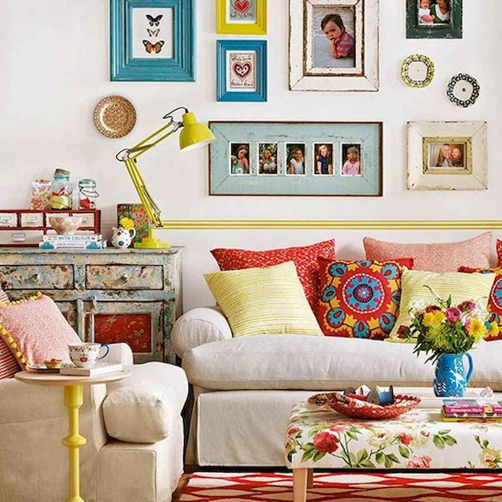 Simple clean vintage living room decorating ideas (19)