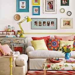 Simple clean vintage living room decorating ideas (19)