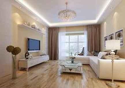 Simple clean vintage living room decorating ideas (37)