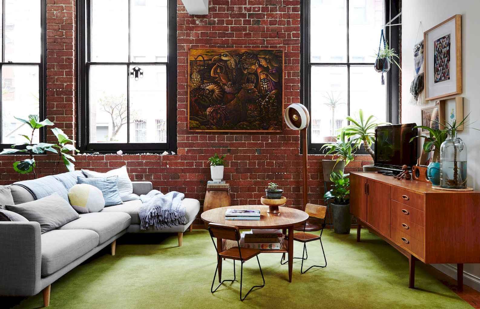Simple clean vintage living room decorating ideas (6)
