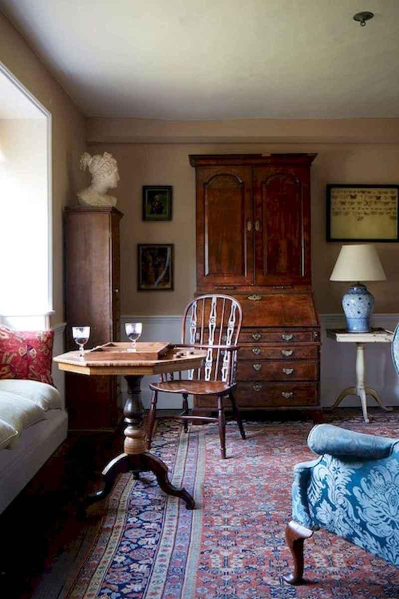 Simple clean vintage living room decorating ideas (8)