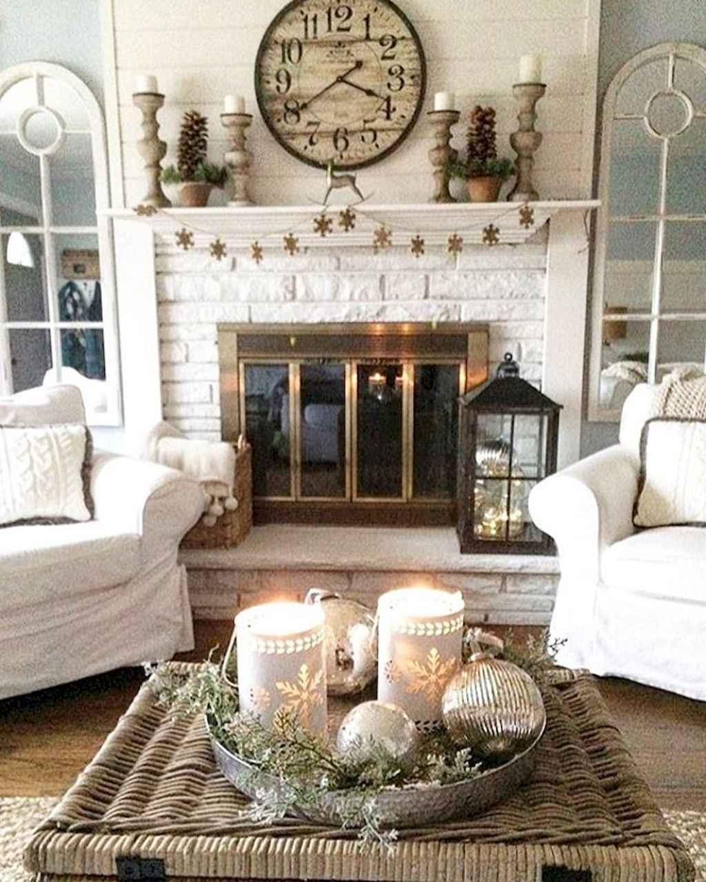 Simple clean vintage living room decorating ideas (9)
