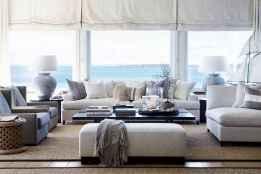 Wonderful coastal living room design & decor ideas (42)