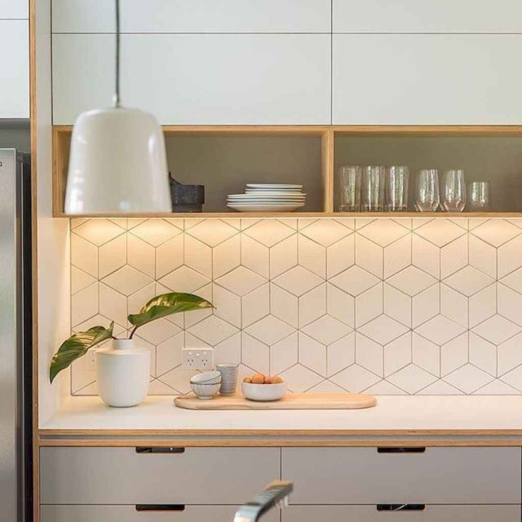 Beautiful kitchen remodel backsplash tile ideas (49)