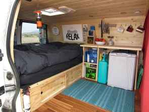 Best rv camper van interior decorating ideas (19)