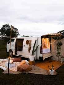 Best rv camper van interior decorating ideas (29)