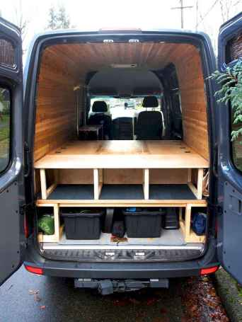 Best rv camper van interior decorating ideas (41)