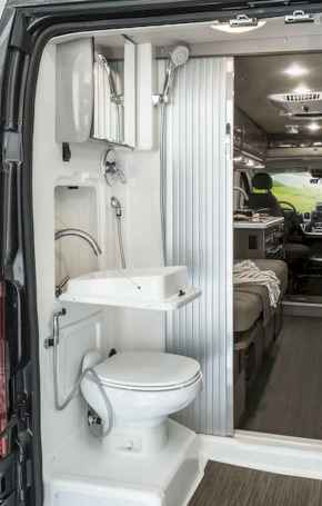 Best rv camper van interior decorating ideas (42)