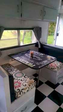 Best rv camper van interior decorating ideas (51)