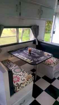 Best rv camper van interior decorating ideas (51)