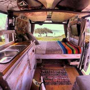 Best rv camper van interior decorating ideas (64)