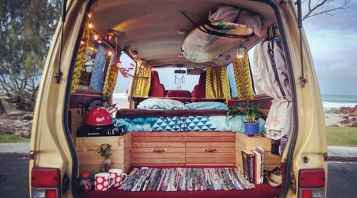 Best rv camper van interior decorating ideas (68)
