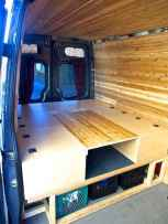 Best rv camper van interior decorating ideas (69)