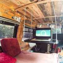 Best rv camper van interior decorating ideas (70)