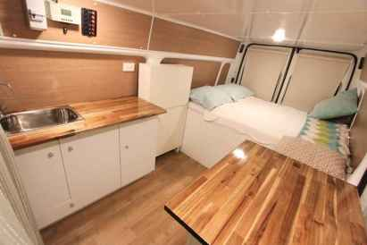 Best rv camper van interior decorating ideas (73)