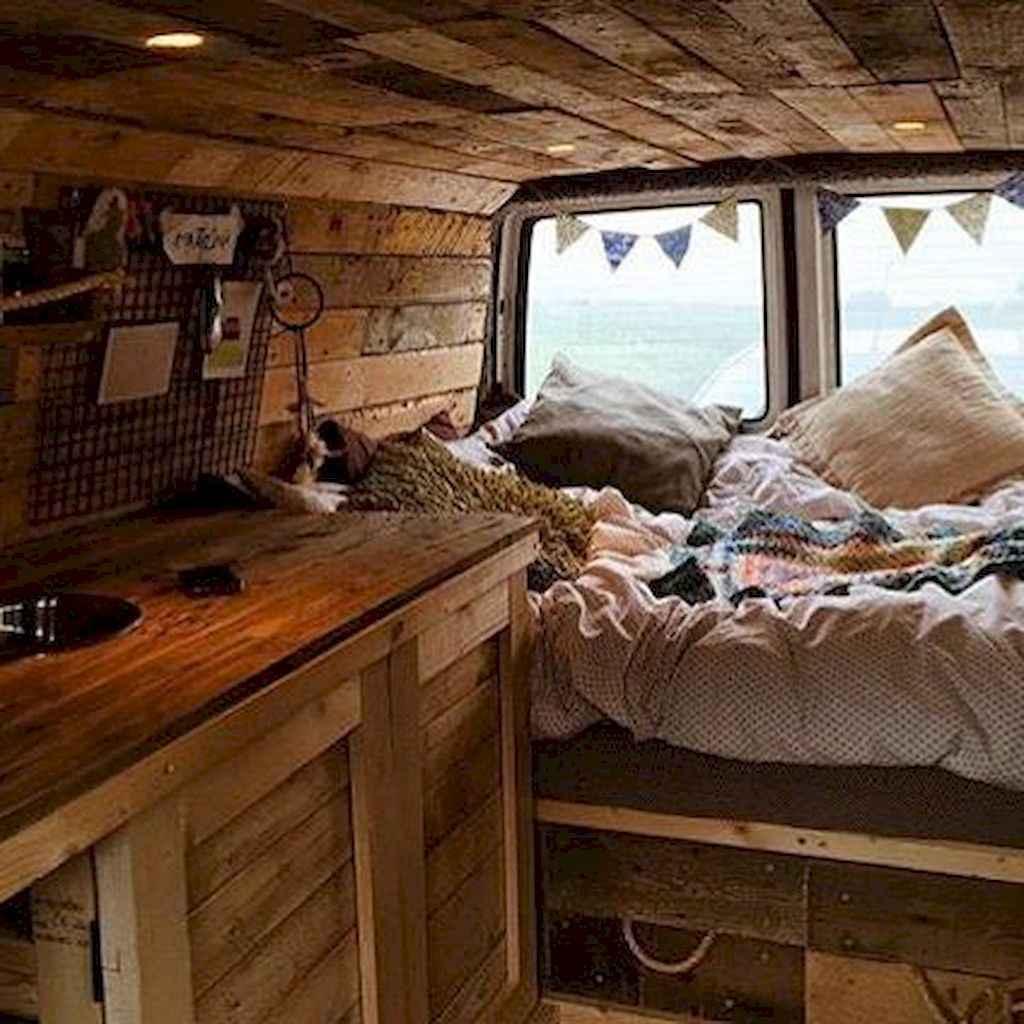 Best rv camper van interior decorating ideas (77)