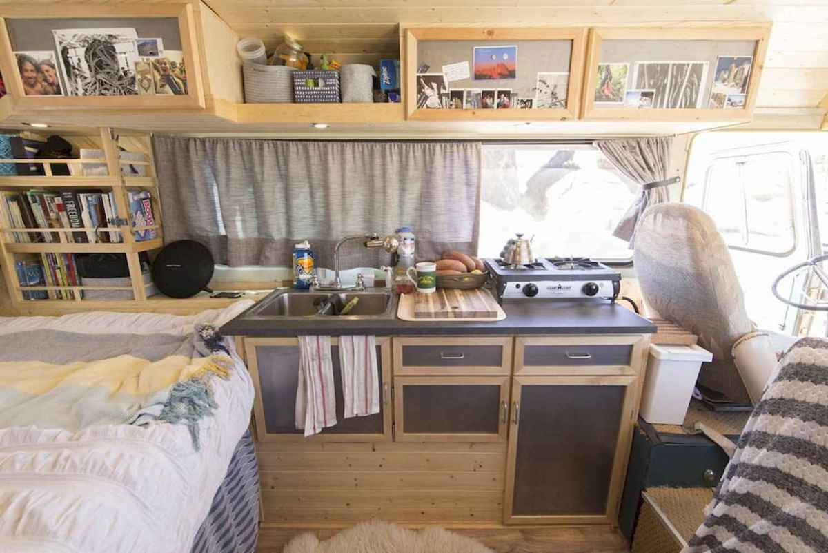 Best rv camper van interior decorating ideas (81 ...