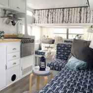 Best travel trailers remodel for rv living ideas (22)