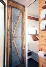 Best travel trailers remodel for rv living ideas (48)