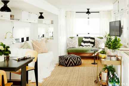 Best travel trailers remodel for rv living ideas (58)