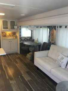 Best travel trailers remodel for rv living ideas (70)