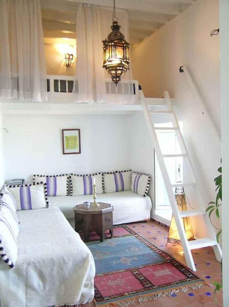 Creative loft stair with space saving ideas (35)