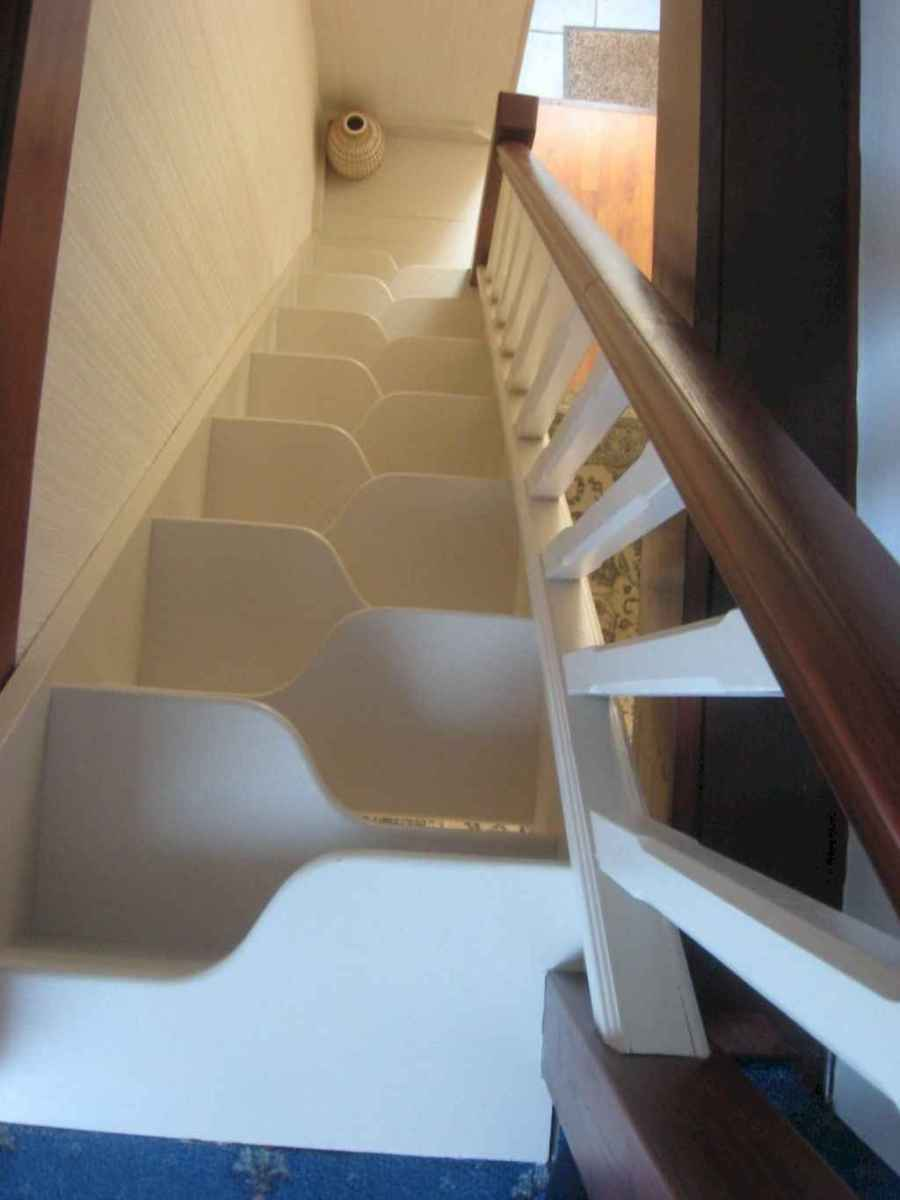 Creative loft stair with space saving ideas (57)