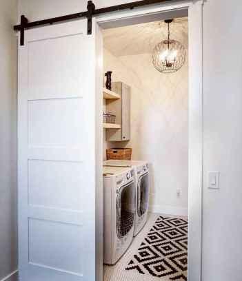Farmhouse style laundry room makeover ideas (13)