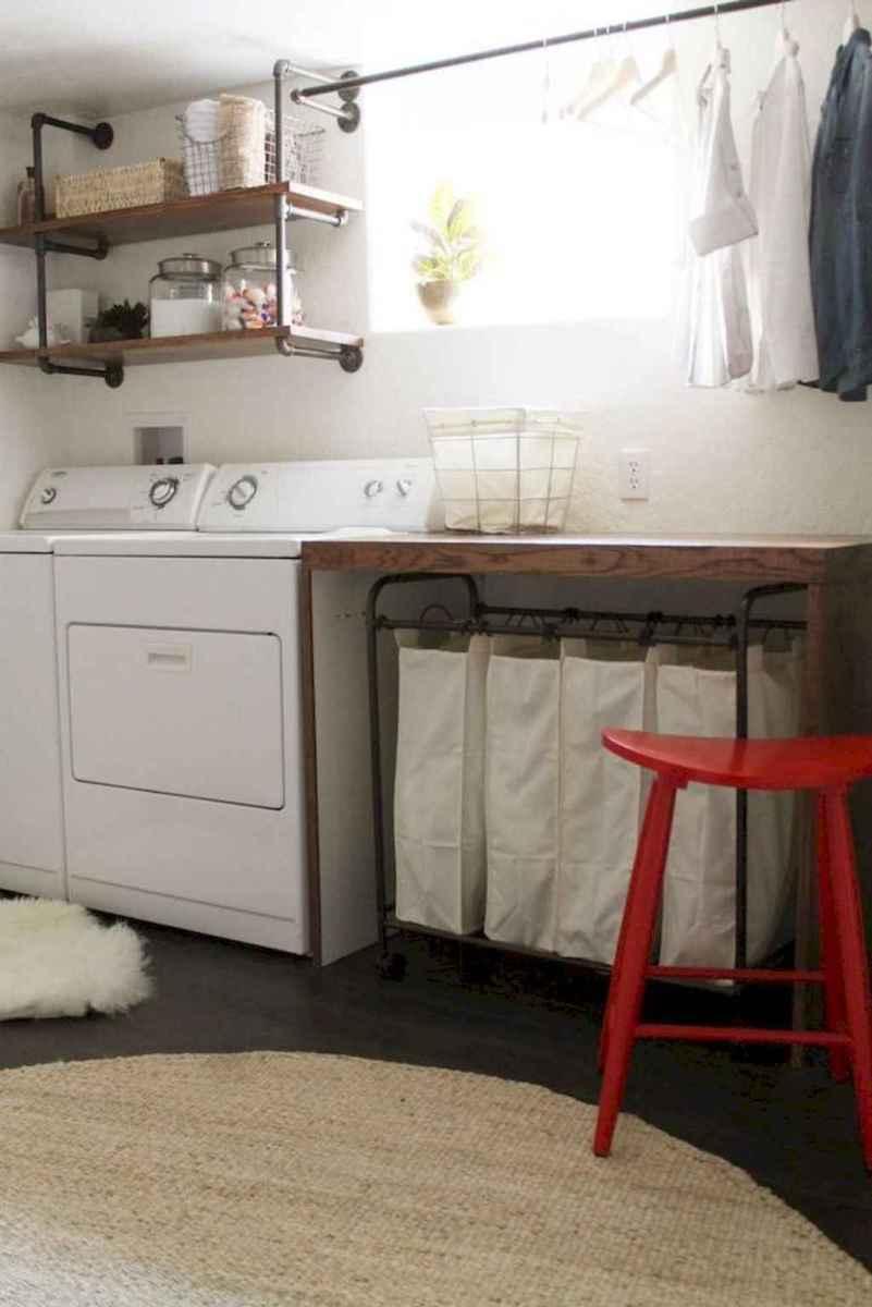 Farmhouse style laundry room makeover ideas (17)