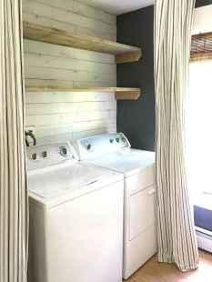 Farmhouse style laundry room makeover ideas (19)