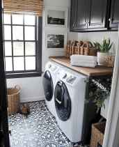 Farmhouse style laundry room makeover ideas (21)