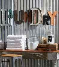 Farmhouse style laundry room makeover ideas (28)