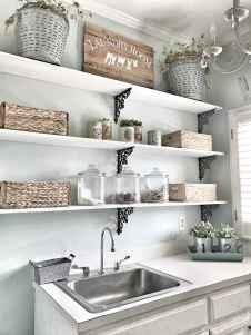 Farmhouse style laundry room makeover ideas (31)