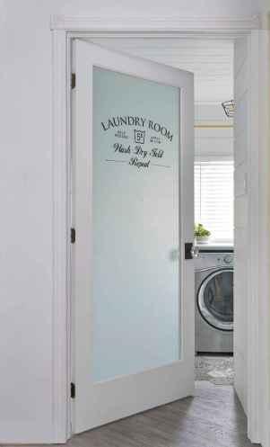 Farmhouse style laundry room makeover ideas (39)