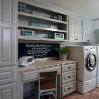 Farmhouse style laundry room makeover ideas (43)