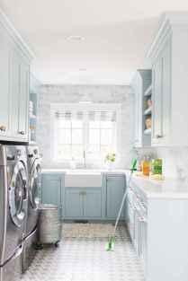 Farmhouse style laundry room makeover ideas (5)