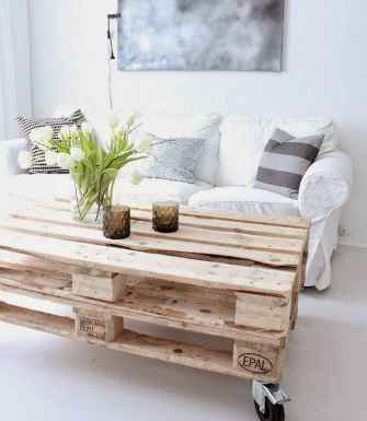 Rustic farmhouse coffee table ideas (15)