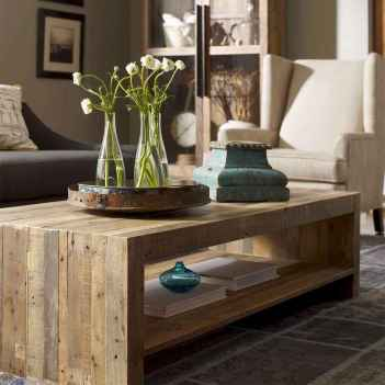 Rustic farmhouse coffee table ideas (59)