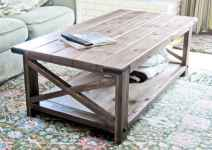 Rustic farmhouse coffee table ideas (92)