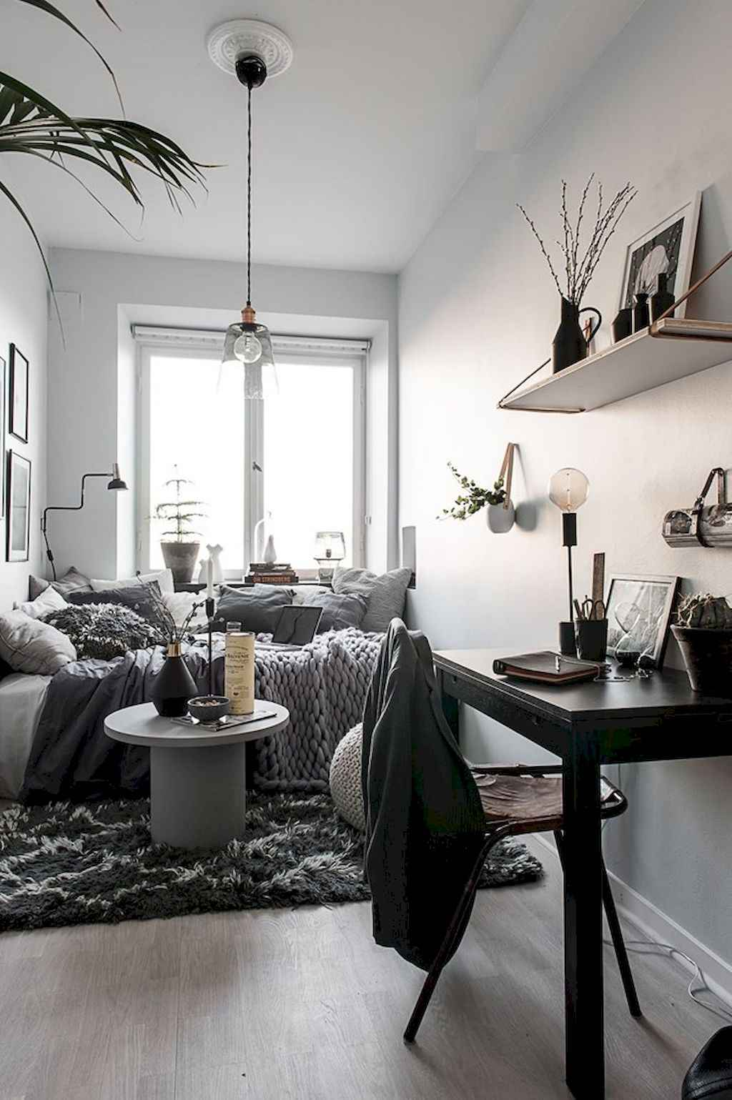 Small apartment studio decorating ideas on a budget (21)
