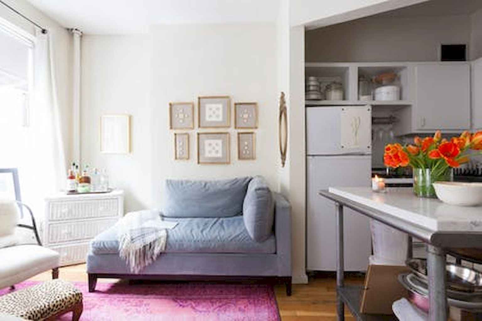 Small apartment studio decorating ideas on a budget (53)