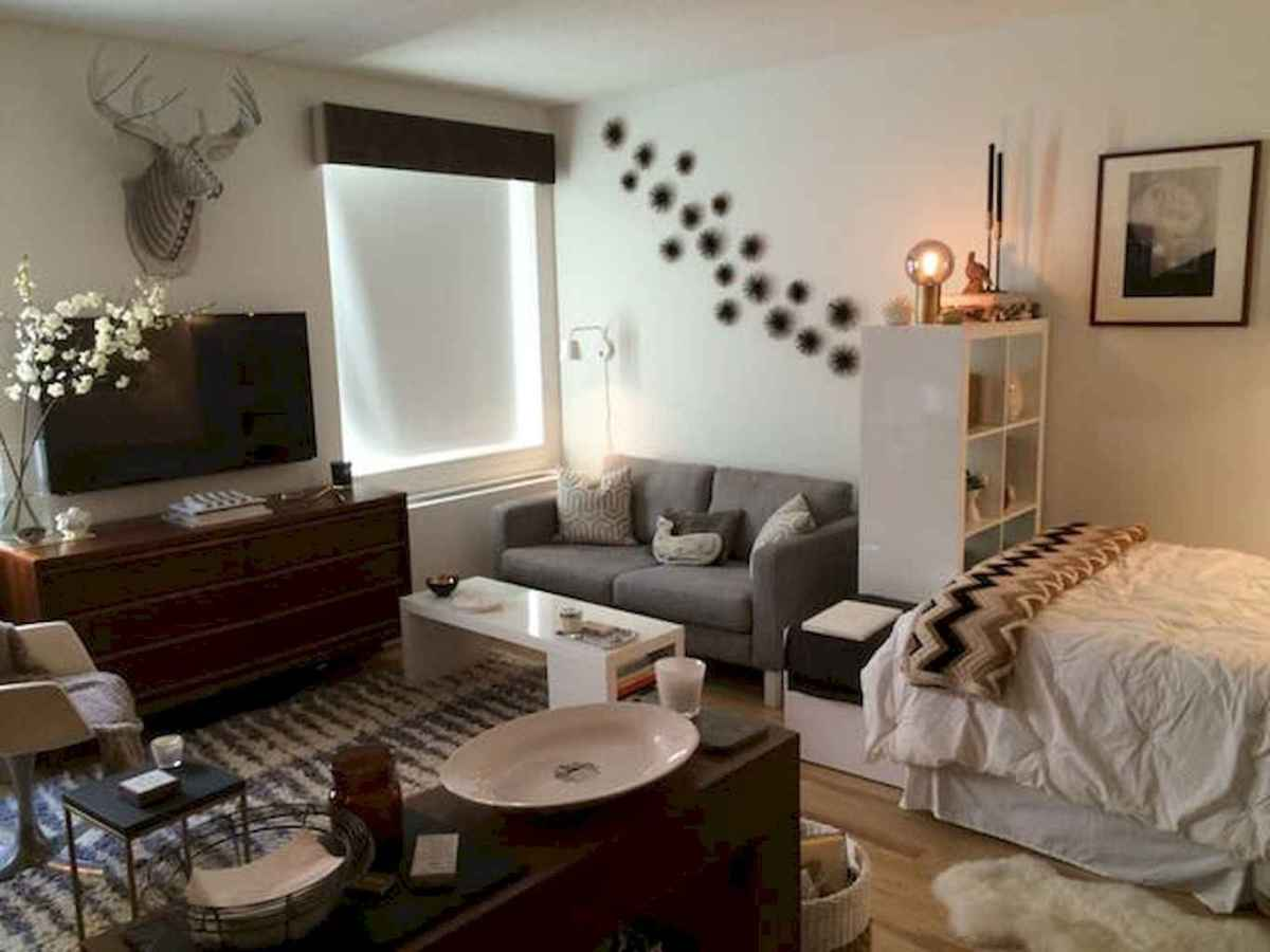 Small apartment studio decorating ideas on a budget (61)