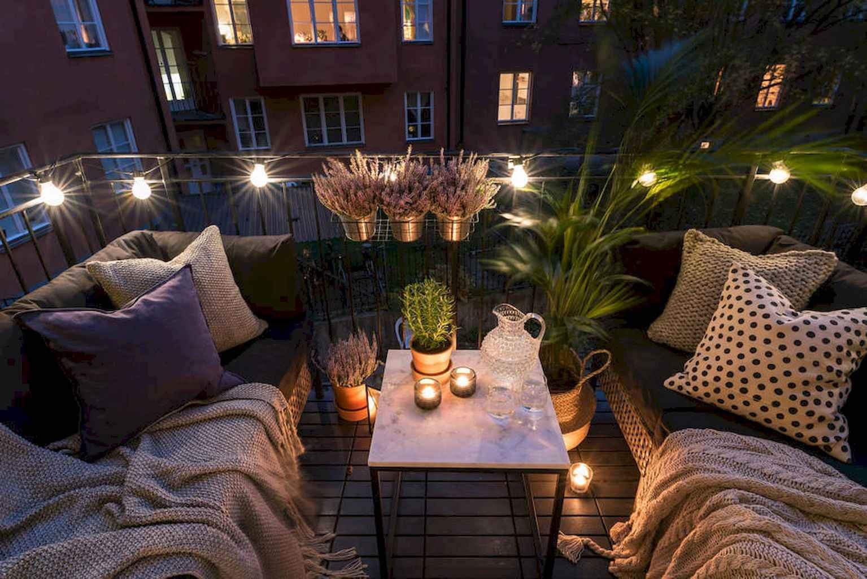 Small balcony decoration ideas (59) & 65 Small Balcony Decoration Ideas - HomeSpecially