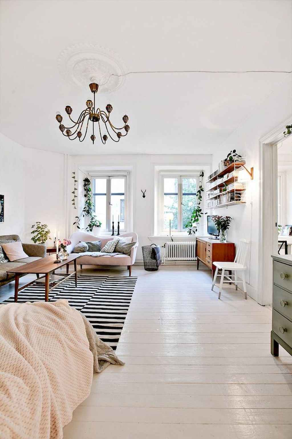 Amazing small first apartment decorating ideas (43)