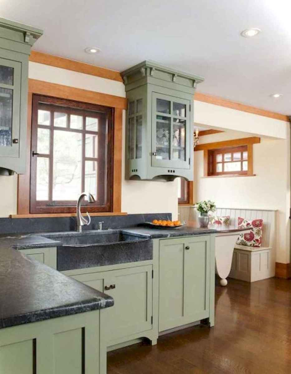 Best Rustic Farmhouse Kitchen Cabinet Makeover Ideas 51