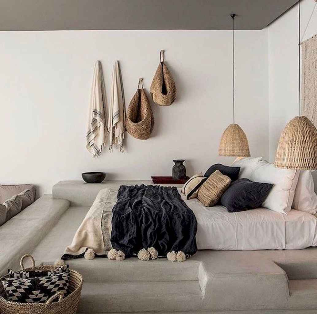Modern Bohemian Bedroom: Bohemian Style Modern Bedroom Ideas (54)