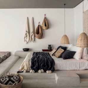 Bohemian style modern bedroom ideas (54)